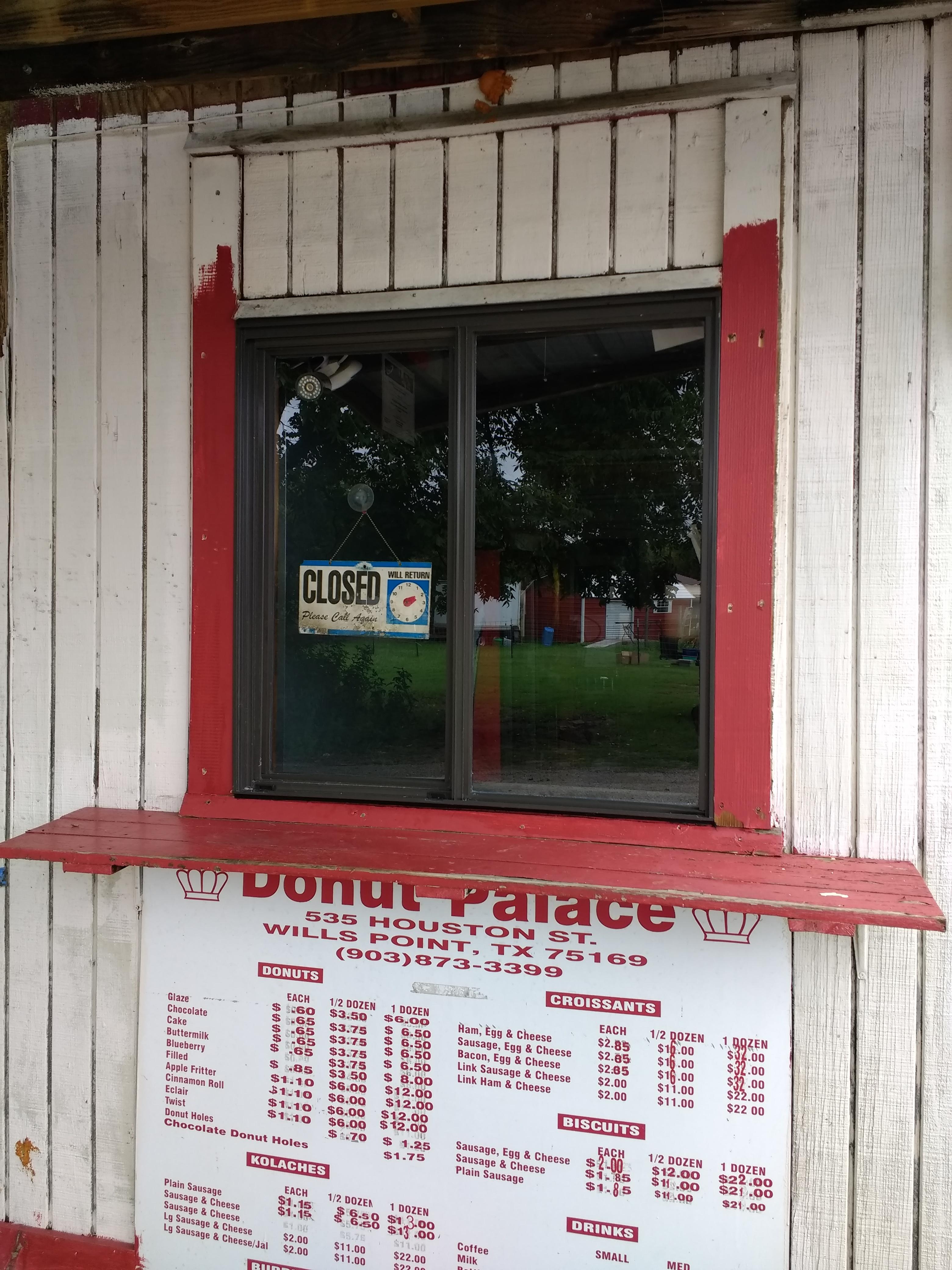 Donut Palace Drive-Thru Window Replacement