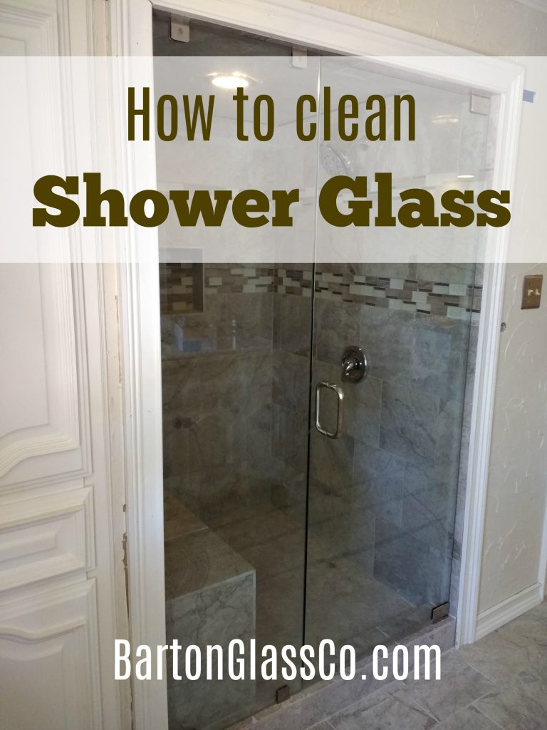 Cleaning Shower Glass - The Do's and Dont's