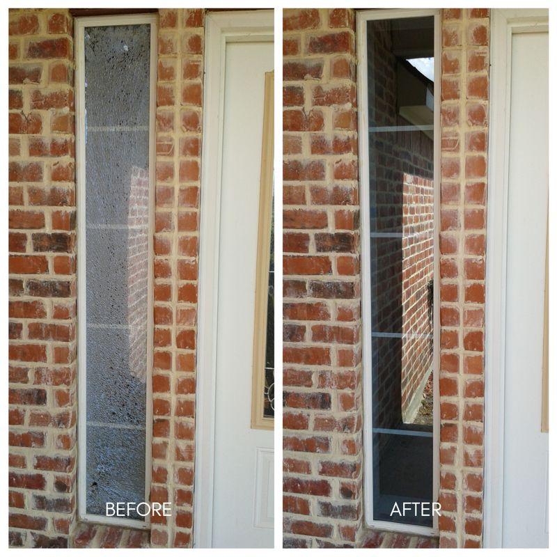 Broken door lite replacement