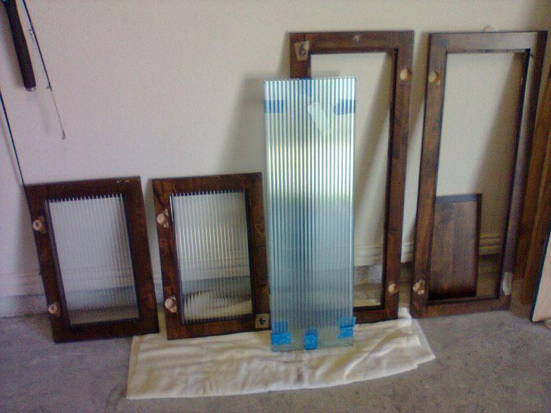 Cabinet glass, Barton Glass Co., Texas