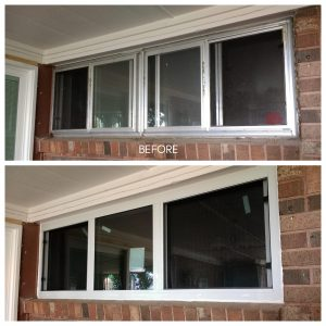 Replacement Window w/horizontal sliders